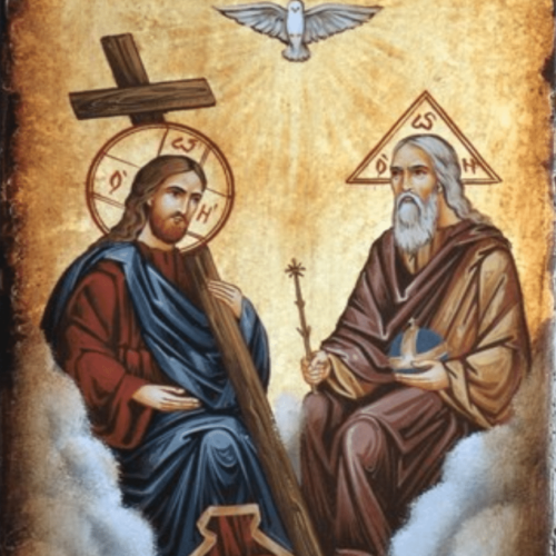Father sont and holy spirit